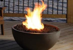 Outdoor Gas Fire Bowl